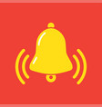 notifications call with ringing bell vector image