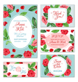 Rose Flower Banners vector image