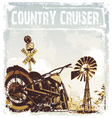 country cruiser vector image