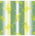 Seamless vertical pattern with flowers Mimosa vector image