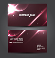 stylish business template design vector image