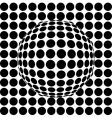 wireframe vector image vector image