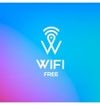 Free wifi symbol for business or commercial use vector image vector image