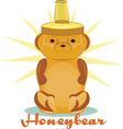 Honeybear Jar vector image
