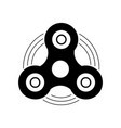 hand fidget toy icon vector image