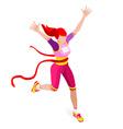 Running Winner 2016 Sports Isometric 3D vector image