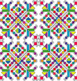 Colorful ethnic ornaments vector image
