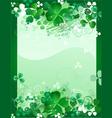 clover leaf design vector image