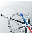 compass northwest vector image vector image