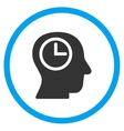 Time Manager Rounded Icon vector image