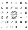 globe icon globe icon vector image