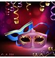 Carnival Masks Background vector image