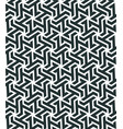 seamless pattern with geometric tessellation style vector image