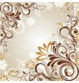 floral graphic background design vector image vector image
