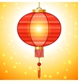 Chinese New Year background design with lanterns vector image