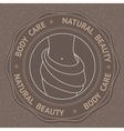 with Body Care Natural Beauty vector image