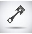 Car motor piston icon vector image