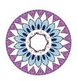 mandala decoration spiritual oriental mystical vector image