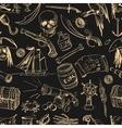 Pirates pattern Hand drawn vector image