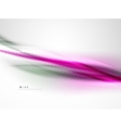 silk white and purple color waves beauty vector image