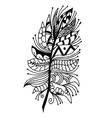 Very high quality original feather vector image