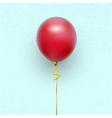 balloon on a ribbon vector image