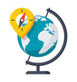 geography icon vector image