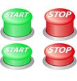 start stop vector image vector image