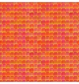 Abstract seamless pattern of bright varied colors vector image