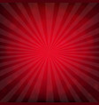 red burst poster with bokeh vector image