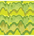 Oozing green slime seamless pattern vector image