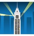 Cartoon skyscraper vector image
