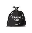 garbage bag icon vector image