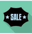 Sale emblem icon flat style vector image