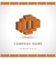Construction and repair Real estate company logo vector image