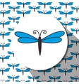 Butterfly cute cartoon design vector image