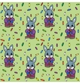 bunny and candies vector image