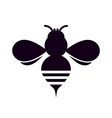 Bee Silhouette vector image