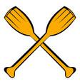 paddle icon icon cartoon vector image vector image