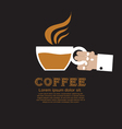 Coffee Cup EPS10 vector image