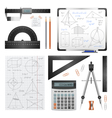 Mathematic Science Images Set vector image