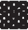 mens clothing icon pattern eps10 vector image