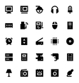 Electronics and Devices Icons 2 vector image