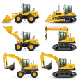 Construction Machines Set 3 vector image