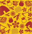 Beer pattern design vector image