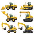 Construction Machines Set 3 vector image