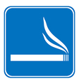 Sign smoking allowed vector image