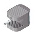 Coffee machine icon isometric vector image