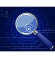 Hi tech background vector image
