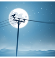 Telephone Lines vector image